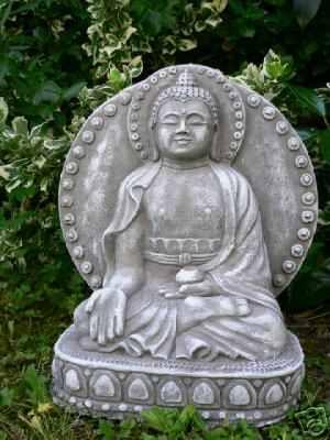 steinguss buddha figuren und laternen online kaufen dekowelt. Black Bedroom Furniture Sets. Home Design Ideas