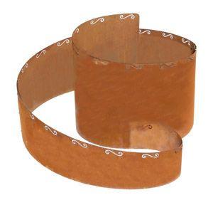 Kräuterspirale Corten Stahl 130x140x80cm Edelrost Bellissa 91008